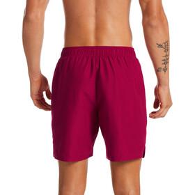 "Nike Swim Essential Lap 7"" Shorts Volley Hombre, rojo"